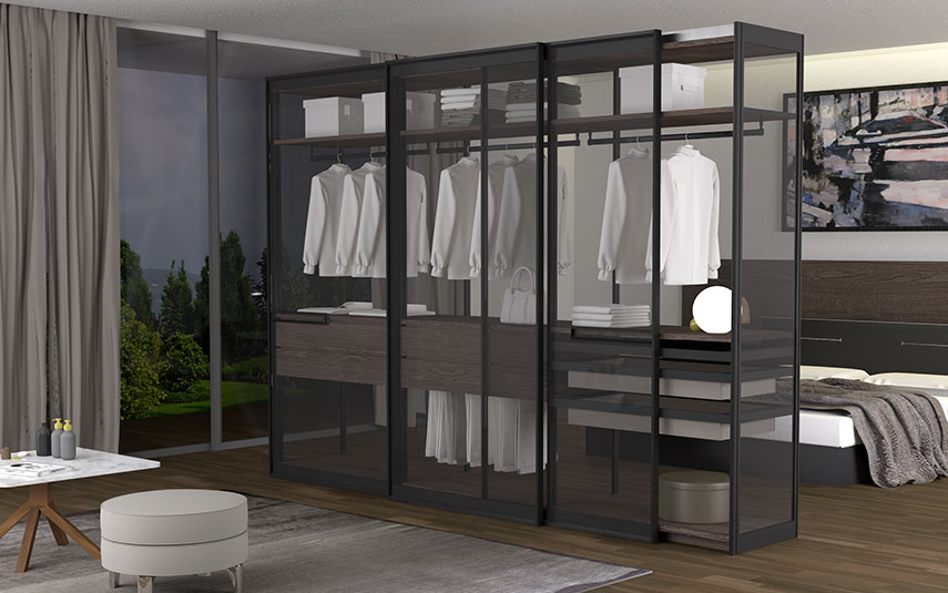 cafim-aluminium-profile-walk-in-wardrobes-living-room-made-in-italy